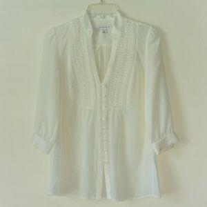 Beautiful 100% Silk Blouse Size XS